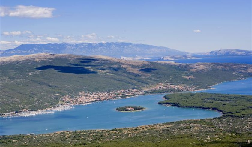 Bay of Punat - panorama