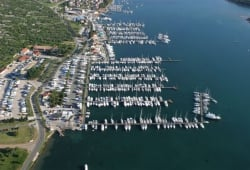 yacht harbour in Punat