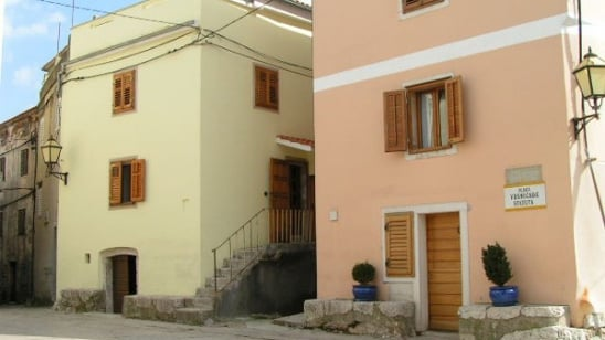 Holiday home Placa in the centre of town–Vrbnik–Island Krk–Croatia