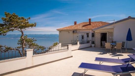 Apartment Petar 1 with panoramic sea view – Vrbnik-Island Krk –Croatia