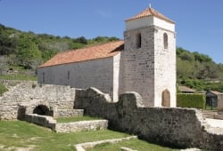 Former benedictin abbey st. Lucy in Jurandvor.